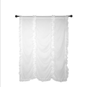 Simply Shabby Chic Curtain Panels -White 84″